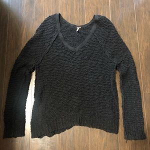 Black free people sweater, size small!